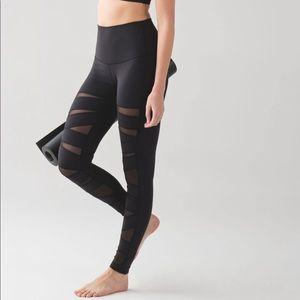 Lululemon Tech Mesh Leggings 2 Black